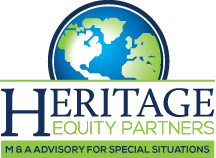 Heritage Equity partners. M&A Advisory for Special situations